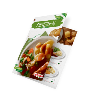 Nieuwe catalogus Dineren à la carte
