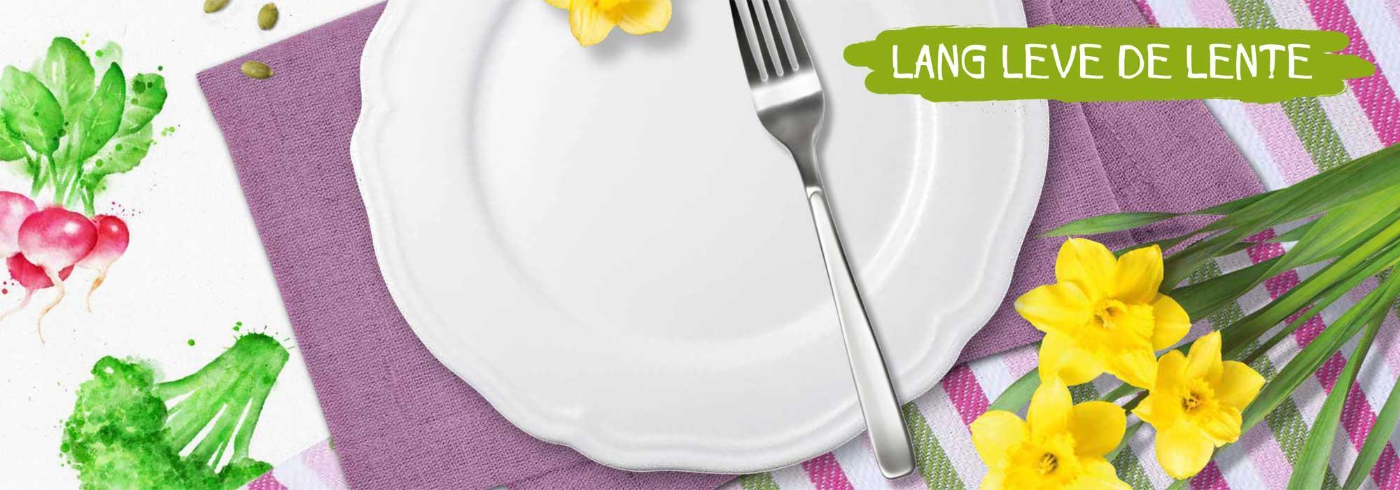 Heerlijke lentemaaltijden